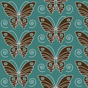 butterfly-2-vector-dk-brown-30-BLUEGREEN-175