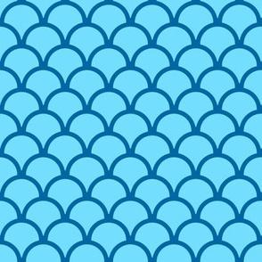 scallops ocean blue