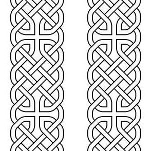 01454883 © celtic knotwork bands