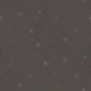 Gray and Taupe Stars