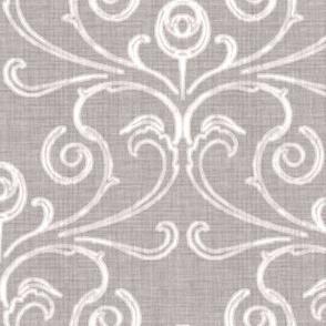 Custom - Faded French Rose - Silver Grey
