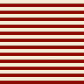 Vintage Candy Cane Christmas Stripe- Small