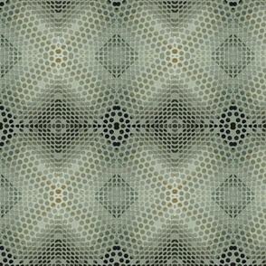 Space Lace - Granny's Crochet Bedspread