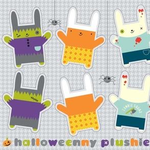 Halloweeny plushies