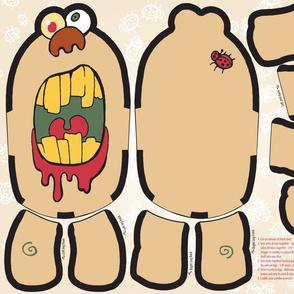 Zombie Plush Monster