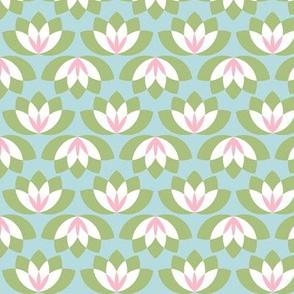 abstract lotus