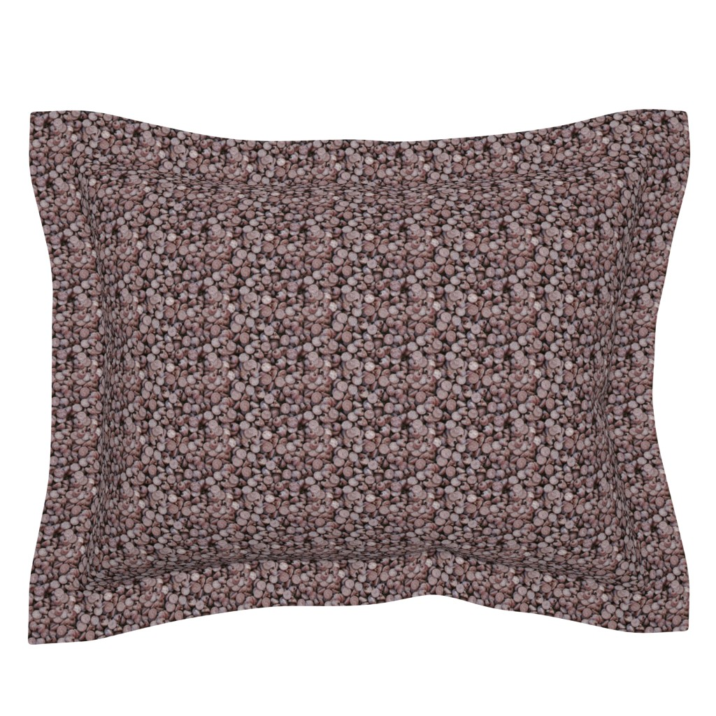 Sebright Pillow Sham featuring chocolate chips by hannafate