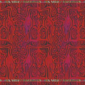 Pacific Cranes - Bing Cherry Red