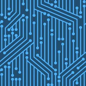 Printed Circuit Board (Blue)