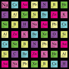 Elementary Periodic (Dark Retro)