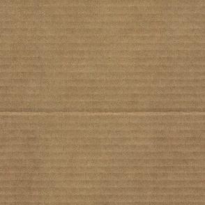 plain brown wrapper (faux cardboard)