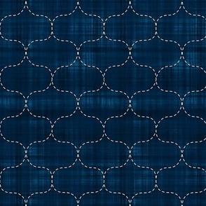 Sashiko: Hoshi-Ami - Fish Net