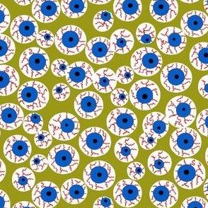 Eyeballs olive