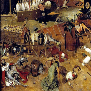 The Triumph of Death 1562 - Stretched