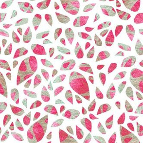 Pink, stone leaves