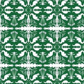 Crocodile Damask