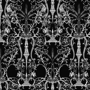 The Lady's Bedroom ~ Black & White