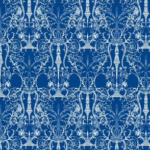 The Lady's Bedroom ~ Blue & White