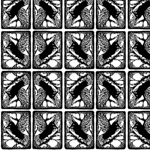 Framed Treasures - Raven I