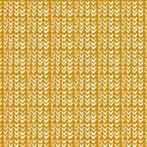 Hand Knit - 13 Wheat Reverse