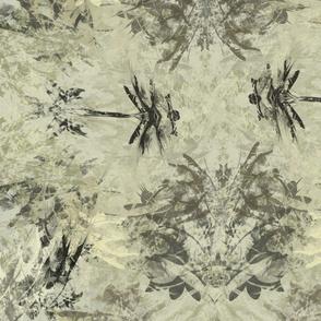 Dragonfly Sumi Ink -Subtle Twist