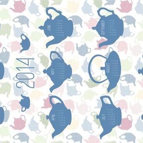 teapot calendar 2014