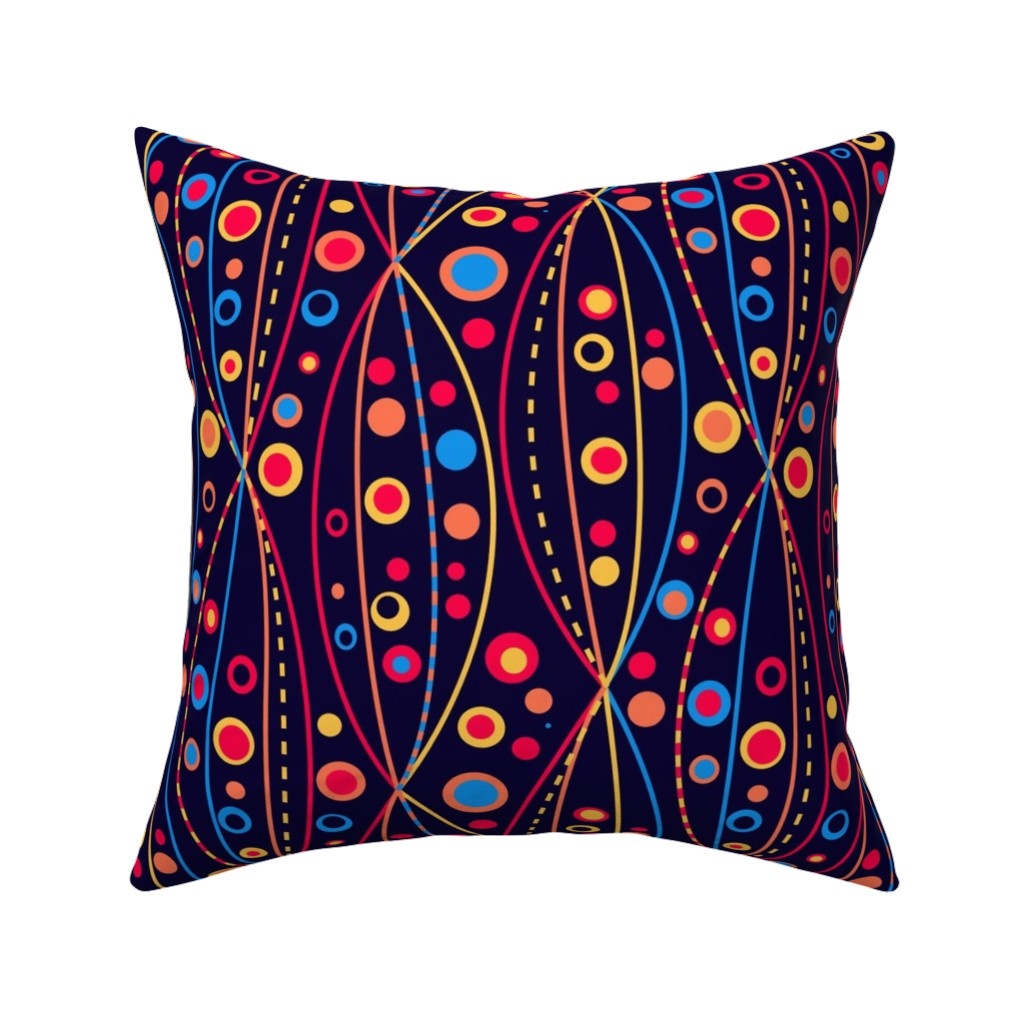 Catalan Throw Pillow featuring A Summer in The Abysses by Cheerful Madness!! by cheerfulmadness_cartoons