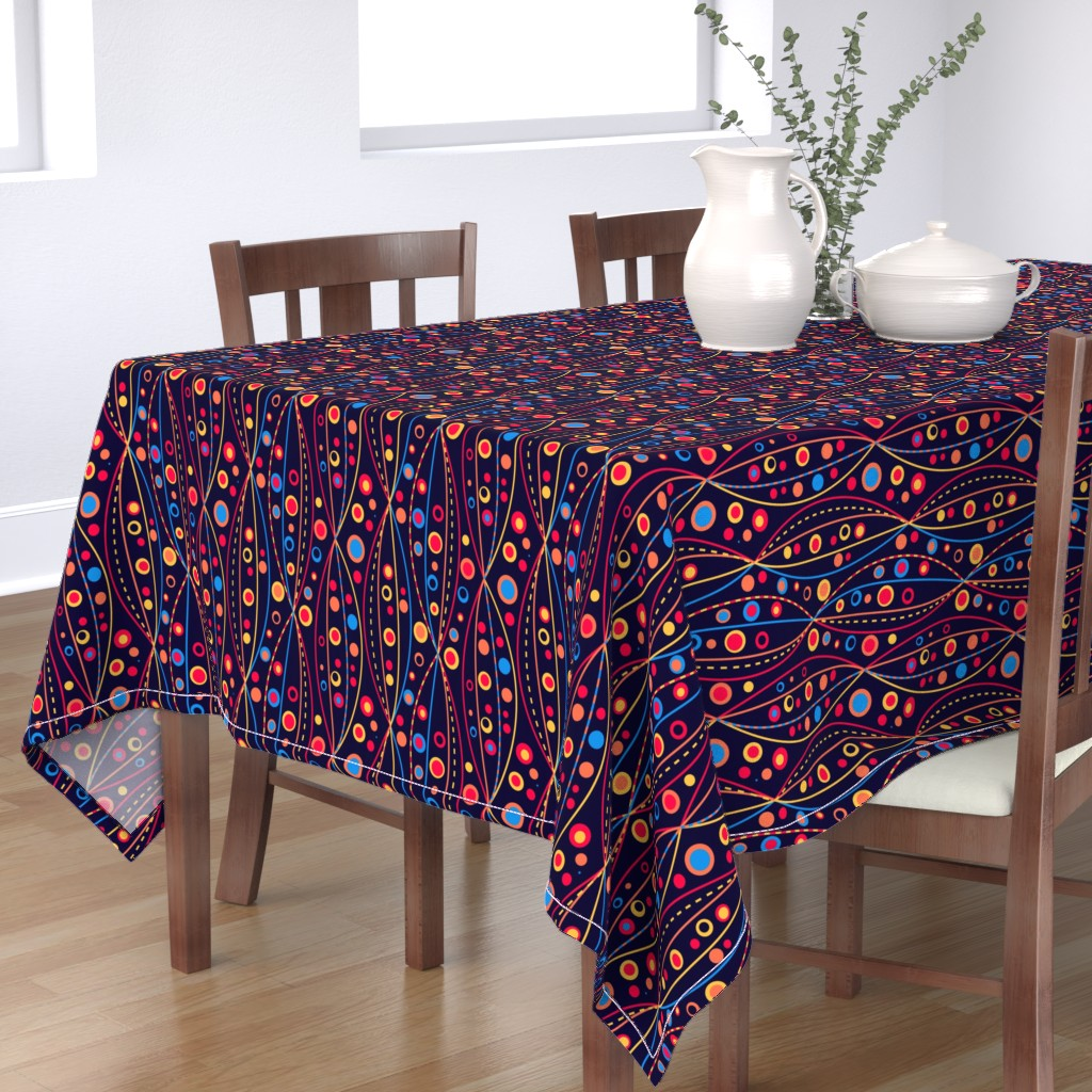 Bantam Rectangular Tablecloth featuring A Summer in The Abysses by Cheerful Madness!! by cheerfulmadness_cartoons