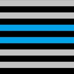 Blue/grey/black stripes (custom)