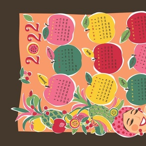 carmen tea towel calendar 2018