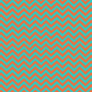 turqoise_orange_chevron