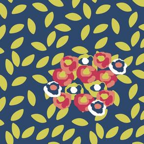Floral Matisse Inspired