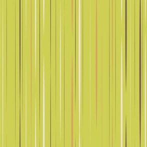 Sassy Fox - Green stripe