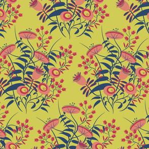 jolies fleurs no. 1 ~ Matisse citron