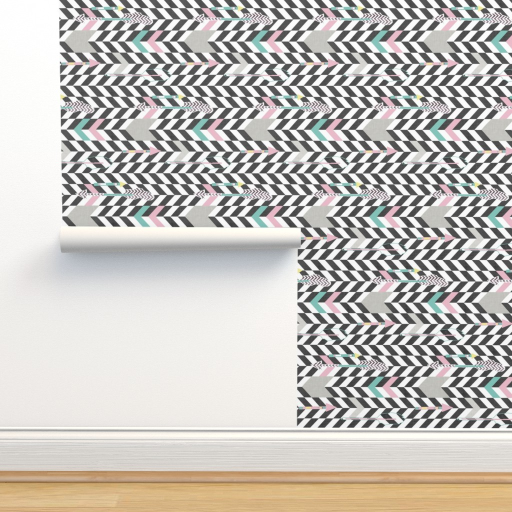 Isobar Durable Wallpaper featuring arrows by katarina