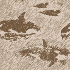 da shore side - brown