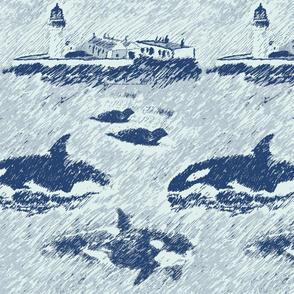 da shore side - blue