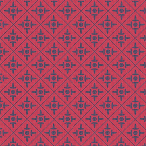 after_matisse_colonial_cross_red_blue_peach
