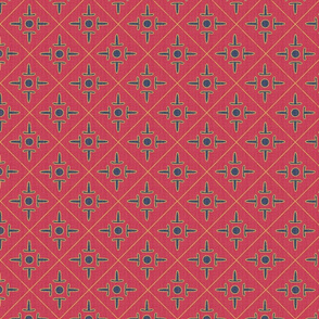 after_matisse_colonial_cross_red_blue_gold_peach