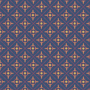 after_matisse_colonial_cross_blue_gold_red_white