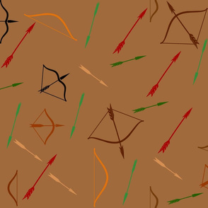Arrows and Bows in Brown