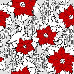 Poinsettia repeat