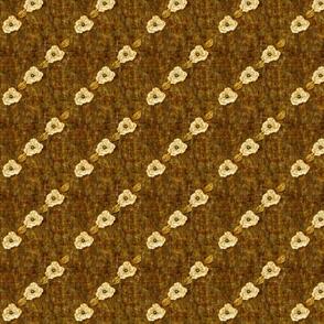 AntiqueRomance: Batik Brown - diagonal