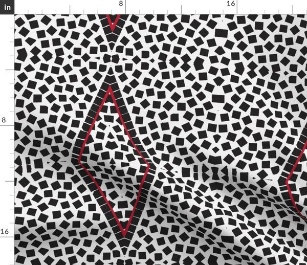 Black White And Red Also Spoonflower