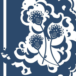 Blue Thistles for Matisse