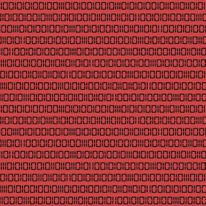 Evil Robot Binary (Red)
