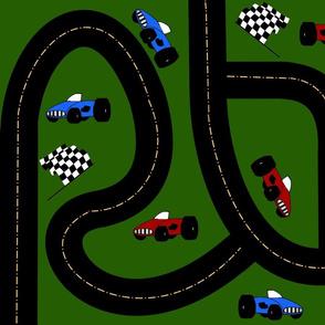 Around The Race Track