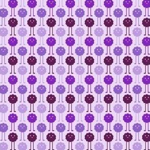 Monsters Blooming - Purple