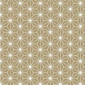 Gilded Asian Stars / Gold Reversed