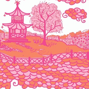 Cloud_Pagoda-orange/pink